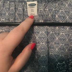 NWOT dress shirt from old navy!